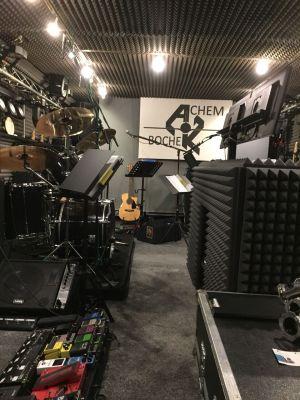 Erlebnisbericht Tonstudio Proberaum Dammen Schaumstofflager