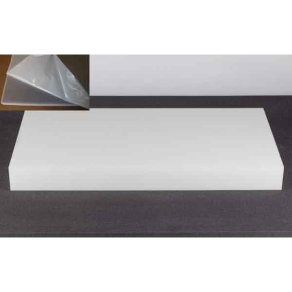 basotect absorber 100cm x 50cm x 10cm weiss klebend. Black Bedroom Furniture Sets. Home Design Ideas