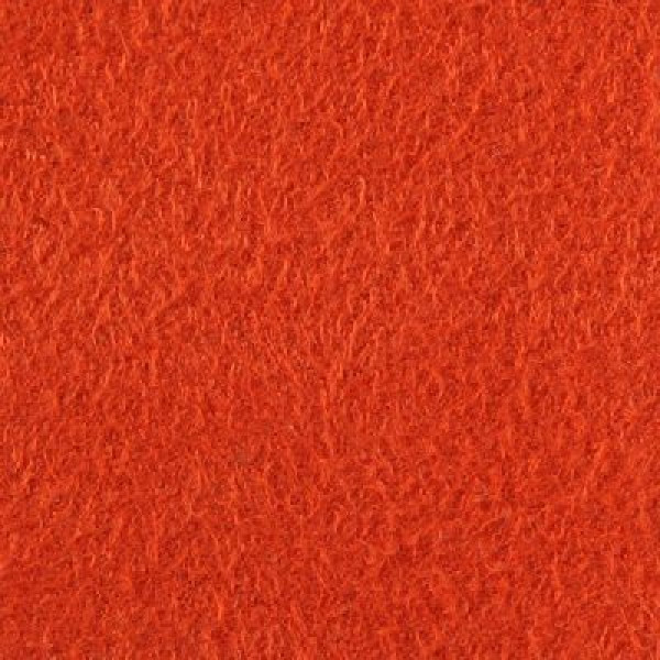 Dreieck - Velours 522 rot-orange