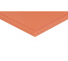 Decor Schaumstoff Colorline 95cm x 45cm x 3cm orange PU Schaumstoff