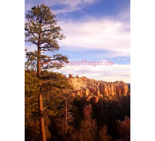 Akustikbild Bryce Canyon in Utah Felsformation