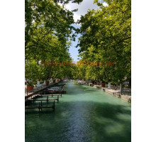 Akustikbild Bridge of Love in Annecy