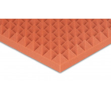 Pyramidenschaumstoff Colorline 95 x 45 x 5cm orange PU Schaumstoff