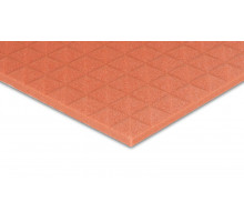 Pyramidenschaumstoff Colorline 95 x 45 x 3cm orange PU Schaumstoff