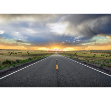 Akustikbild Road to Success 200 x 100cm x 4cm mit Alurahmen