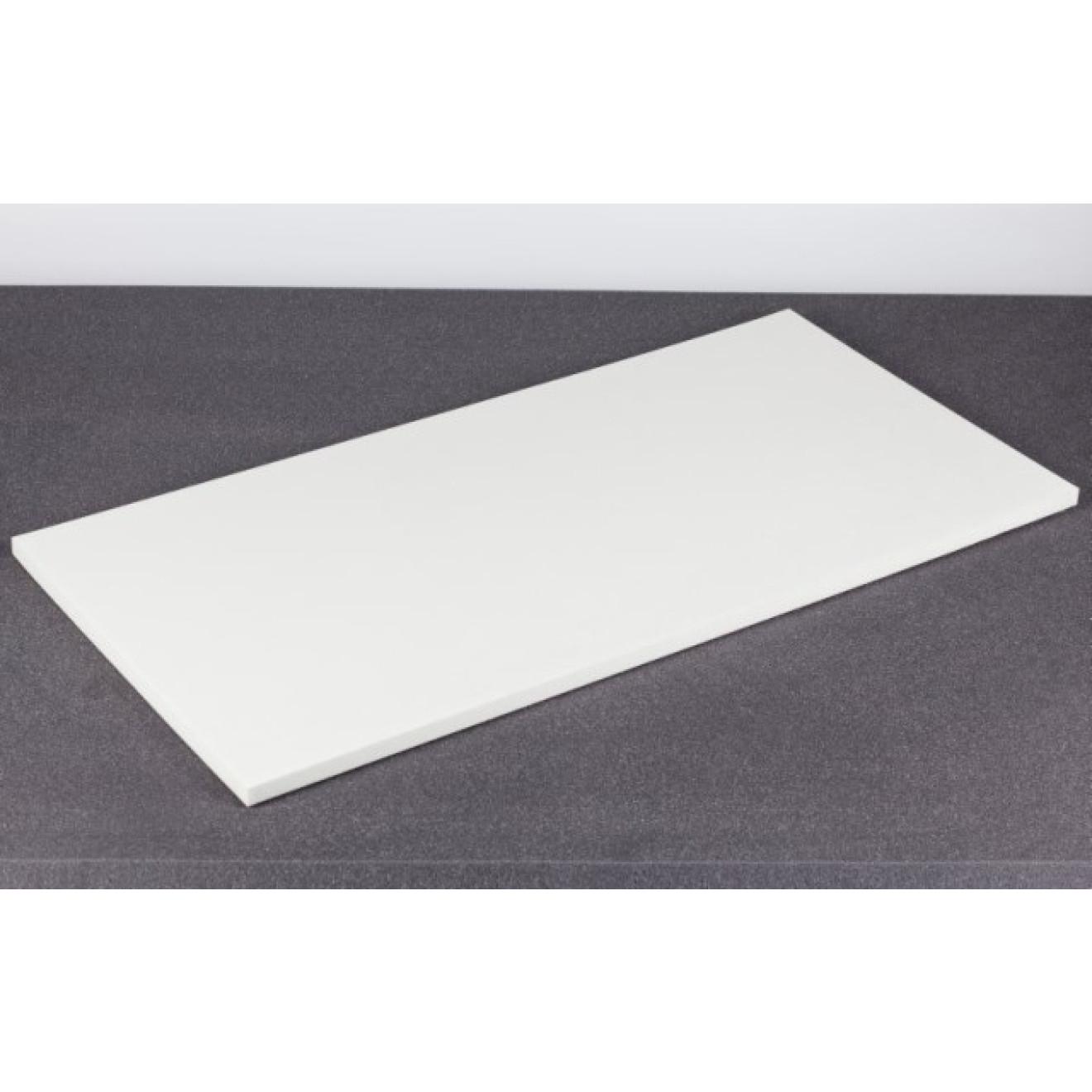 polyethylen pe schaumstoff 100x50x2cm weiss. Black Bedroom Furniture Sets. Home Design Ideas