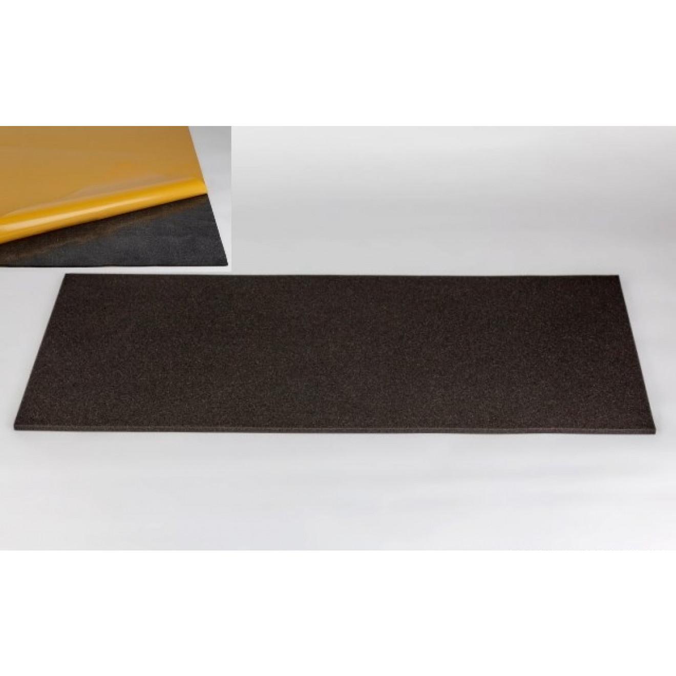 schaumstoff plan akustik 100 x 50 x 1cm anthrazit klebend. Black Bedroom Furniture Sets. Home Design Ideas
