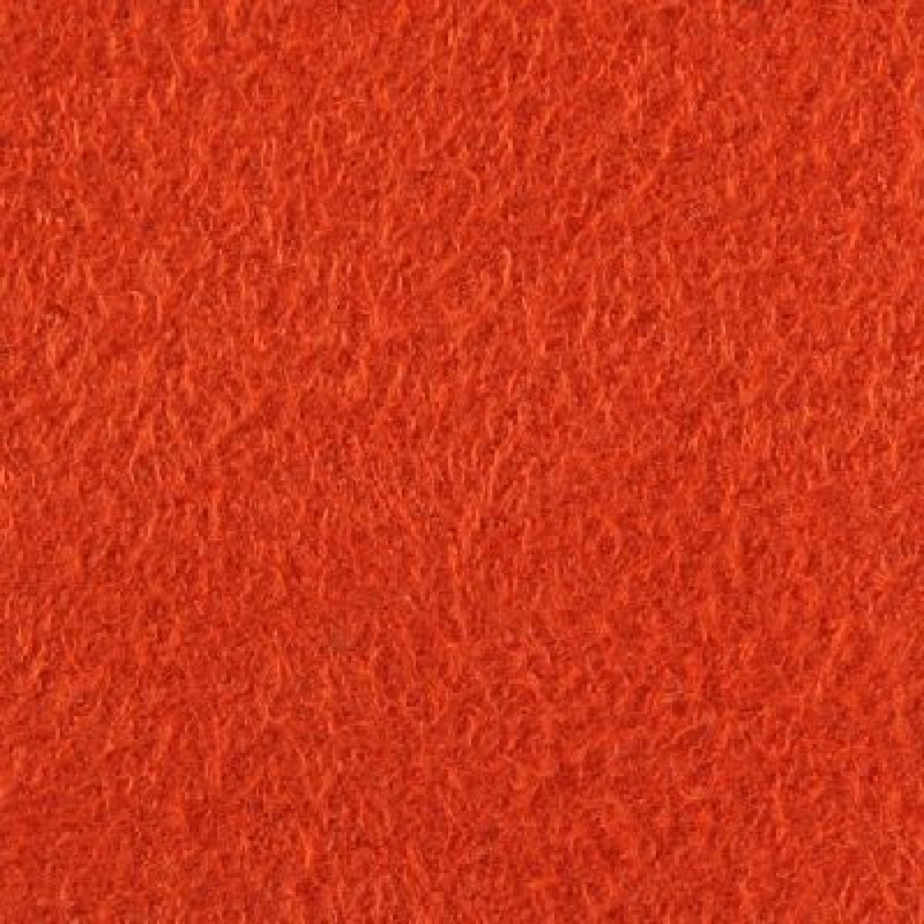 Viertelrolle - Velours 522 rot-orange