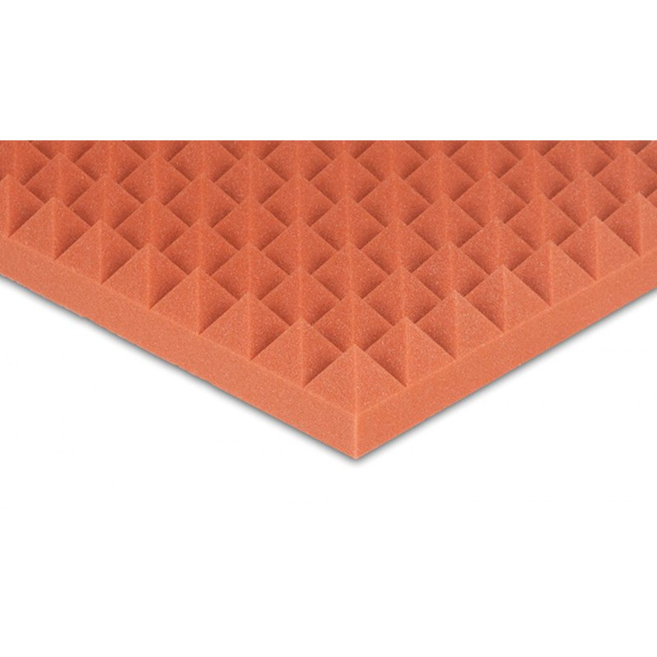 Pyramidenschaumstoff Colorline 95 x 45 x 7cm orange PU Schaumstoff
